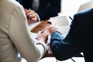 echtscheidingspapieren tekenen