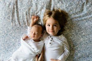 baby en kleuter