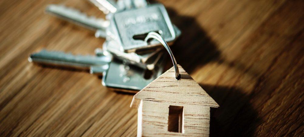 sleutelbos-met-huisje-eraan