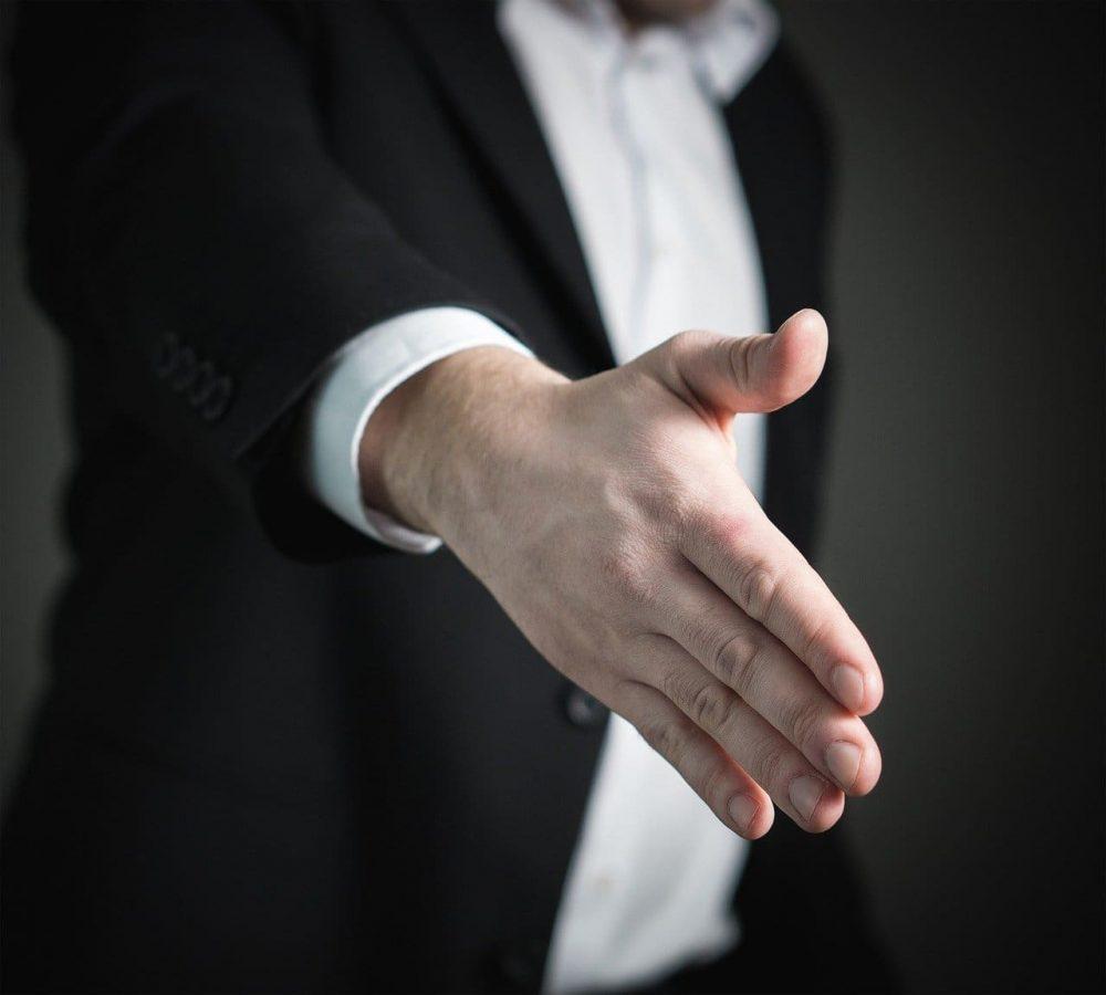 Hand schudden
